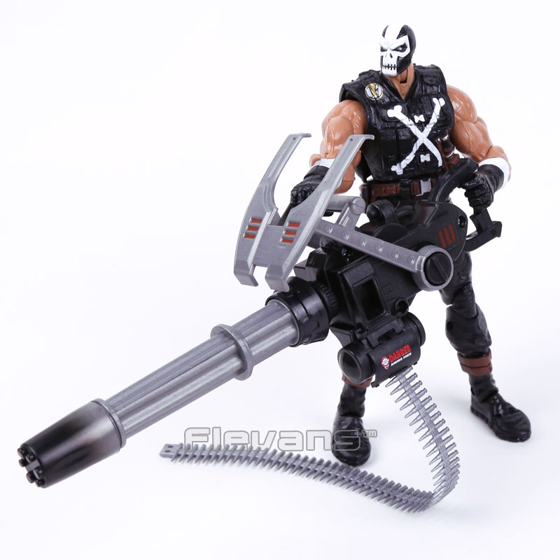 Marvel Brock Rumlow Crossbones ile Silah PVC Action Figure Koleksiyon Model Oyuncak 19 cm