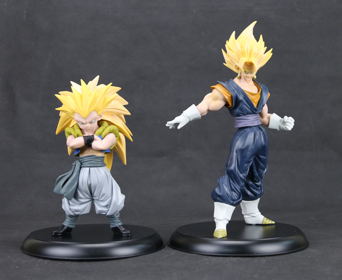 Yeni Dragon Ball Z Süper Saiyan 3 Gotenks Gogeta Banpresto HQDX VOL.6 Action Figure 22 cm